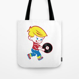 Frosty Beats Tote Bag