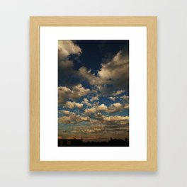 The Sky is Endless Framed Art Print