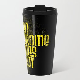 Ben Jerome Hines Troy / Black Travel Mug