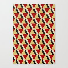 Retrospect, Triangle Duo, No. 06 Canvas Print