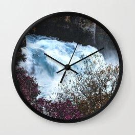 New Zealand River Wall Clock
