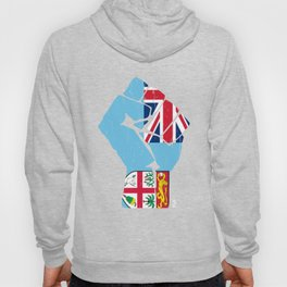 Team Fiji Flag Shirt Hoody