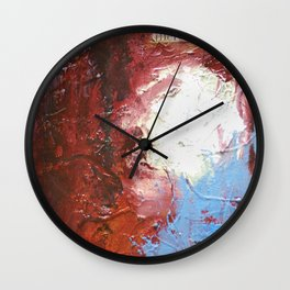 Erase the Damage by Nadia J Art Wall Clock