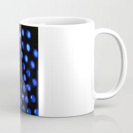 Blue Abstract Circles Coffee Mug