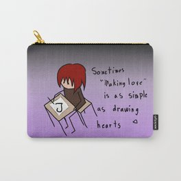 """Making Love"" Carry-All Pouch"