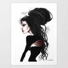Amy ' I just need a friend'' Art Print