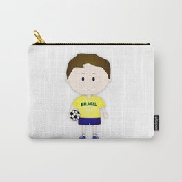 Football Copa Boy Brazil 2014 Carry-All Pouch