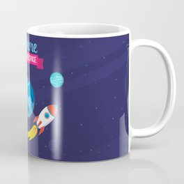 Explore the outer Space Coffee Mug