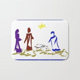 A King is Born in Bethlehem DP150903b Bath Mat