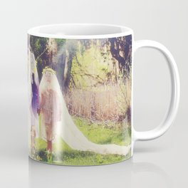 Through the Forsythia Coffee Mug