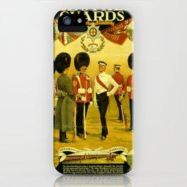 Vintage British Poster iPhone Case