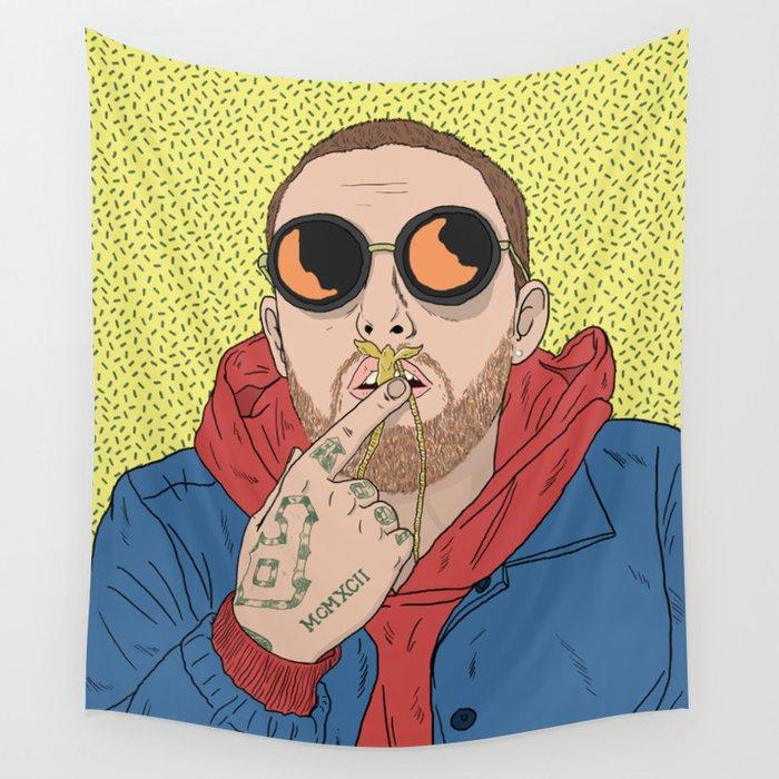 Mac Miller Wall Tapestry