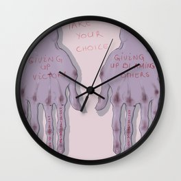 take your choice Wall Clock