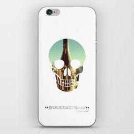 """""""Too much of anything is bad, but too much Champagne is just right"""" iPhone Skin"""