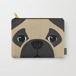 Pug Close Up Carry-All Pouch