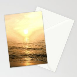 Gold Dawn Stationery Cards
