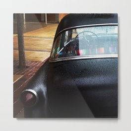 A car that says who cares and we're gonna make right, at the same time. Metal Print