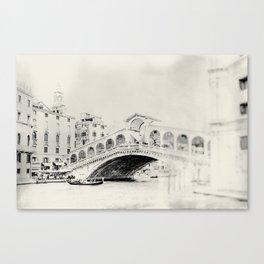 Venice - Study 26 Canvas Print
