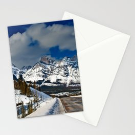 Icefields Parkway Rocky Mountains Canada Stationery Cards