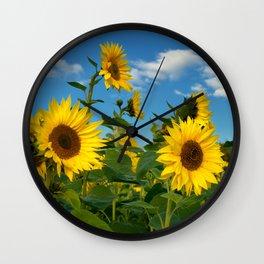 Sunflowers 11 Wall Clock