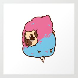 Puglie Cotton Candy Art Print
