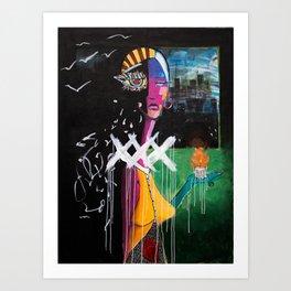 BREVITER Art Print
