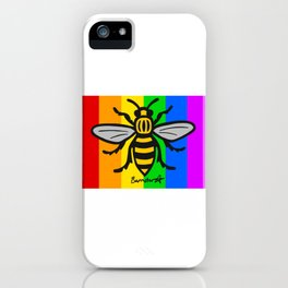Pride Manchester Bee iPhone Case