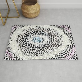 Soap and Suds in Coffee Mugs Rug