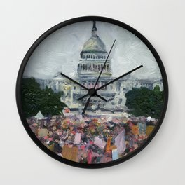 Women's March Wall Clock
