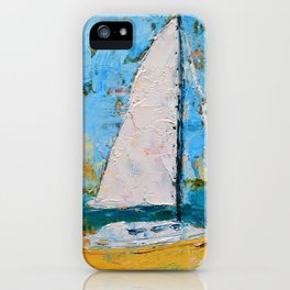 Splendor - Sailboat iPhone Case