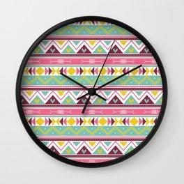 Batik Style 2 Wall Clock