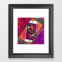 Endless Updates Framed Art Print