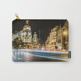 Gran Via (Madrid) Carry-All Pouch