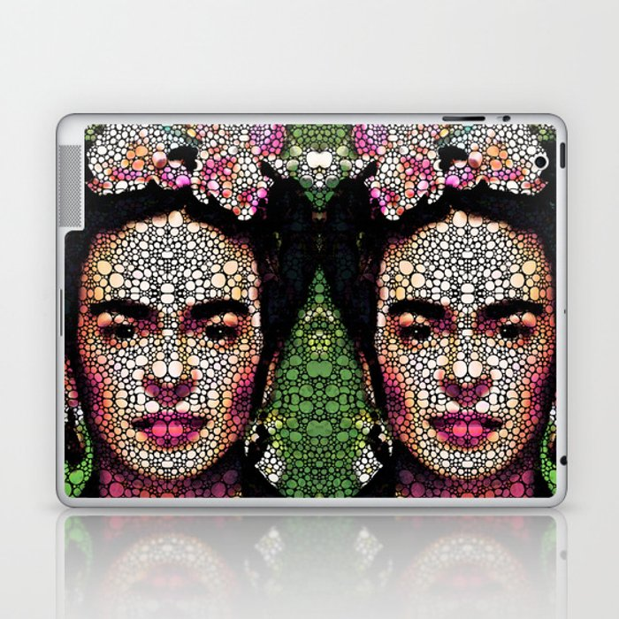 Frida Kahlo Art - Define Beauty Laptop & iPad Skin