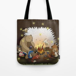 Woodland Tales Tote Bag