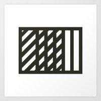 #541 Overlap – Geometry Daily Art Print