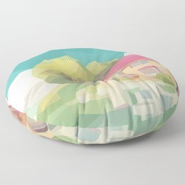 The Age of the Ocean Floor Pillow