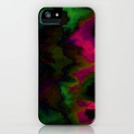 fuchsia drips iPhone Case