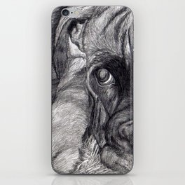 Mastiff iPhone Skin