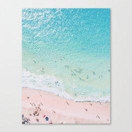 Beach Sunday Canvas Print