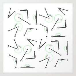 Learn Your Angles Art Print