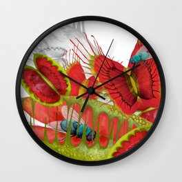 Beautiful And Deadly Wall Clock