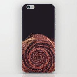Geometric Rose iPhone Skin