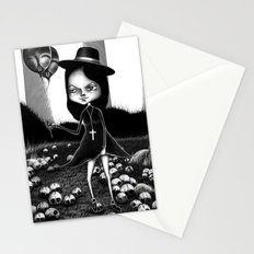 Ride on Lawn Stationery Cards