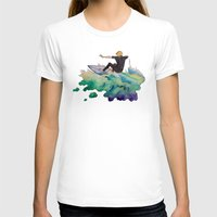 surfer T-shirts featuring Surfer by Kyra Kalageorgi
