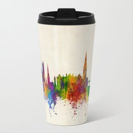 Exeter England Skyline Travel Mug