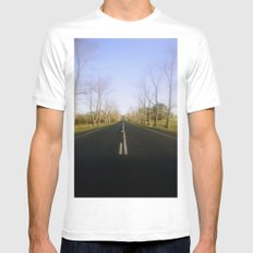 Avenue of Honour White MEDIUM Mens Fitted Tee