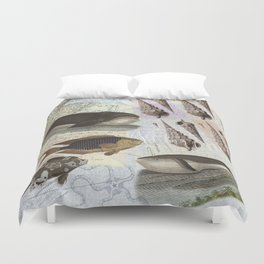 Song of the Whale Duvet Cover
