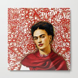 Frida Kahlo 2 Metal Print