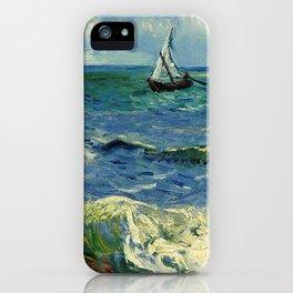 Seascape at Saintes Maries iPhone Case